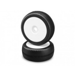 Black Jackets - green compound - white wheel - (pre-mounted)