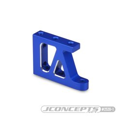 B74 Aluminum floating servo mount bracket, blue - set