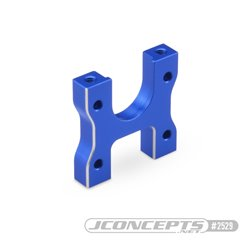 B74 Aluminum center diff mount, blue