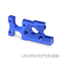 B74 Aluminum motor mount, blue - set