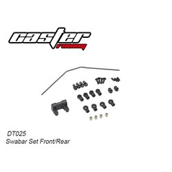Swaybar set front/rear