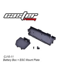 CJ10 Battery Box + ESC Mount Plate