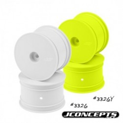 "Mono - TLR 22 4.0 | 5.0 and 22-4, 2.2"" rear wheel (yellow) - 4pc."