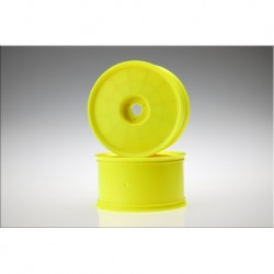Elevated - 1/8th truck wheel (yellow) - 4pc.