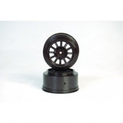Rulux-SC10 rear wheel black