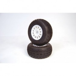 Rulux- Slash rear wheel white