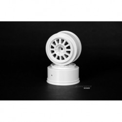 Rulux - Blitz wheel - (white) - 2pc.