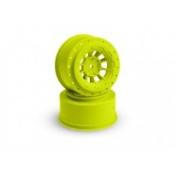 Hazard - Slash rear, Slash 4x4 F&R wheel - (yellow) - 2pc.