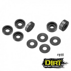 Dirt Racing - recessed ball-stud washer - set black