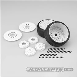 Speed Fangs - platinum compound, Belted, pre-mounted on black 3395 wheels