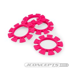 JConcepts - Satellite tire gluing rubber bands - pink - fits 1/10th, SCT and 1/8th buggy