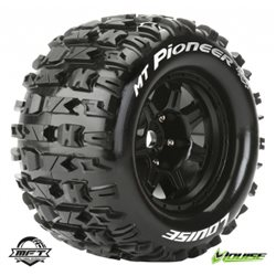 "Tires & Wheels MT-PIONEER 3,8"" Black MFT 1/2-Offset (2)"