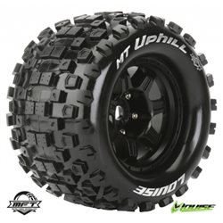 "Tires & Wheels MT-UPHILL 3,8"" Black MFT 1/2-Offset (2)"