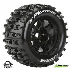"Tires & Wheels ST-PIONEER 3,8"" Black MFT 1/2-Offset (2)"