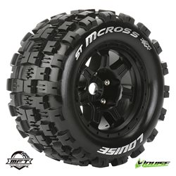 "Tires & Wheels ST-MCROSS 3,8"" Black MFT 1/2-Offset (2)"