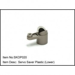 Servo Saver Plastic (Lower)