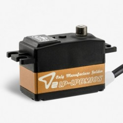 High Voltage servo Brushless digital low profile 10kg 0,65s vid 7,4 volt
