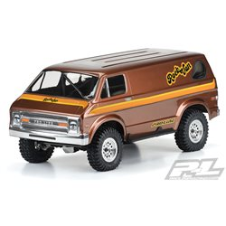 70's Rock Van Clear Body for 313mm WB Crawlers