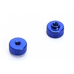 Battery retaining nut (Blue) x2pcs