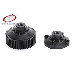 Bevel gear diff case