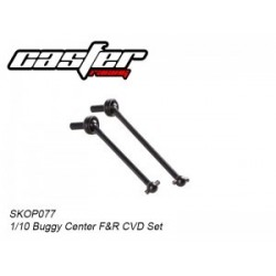 Center Front & Rear CVD Shaft Set