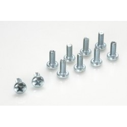 PAN HEAD SCREW M4X10, 10 PCS