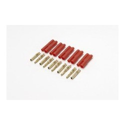 GOLD CONN. 2MM POLARITY PROTECTED 5PCS