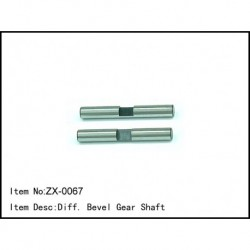 Diff. Bevel Gear Shaft