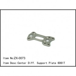 Center Diff. Support Plate 6061t