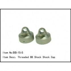 THREADED BIG BORE SHOCK CAP