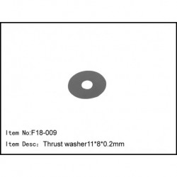 Thrust washer11*8.2*0.2mm