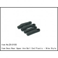 Rear Upper Arm Ball End Plastic - Nike Style.