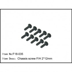 Socket screw 2*9.3mm
