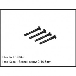 Socket  screw 2*16.6mm