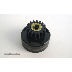 VENTILATED CLUTCH BELL Z17 WITH BEARINGS