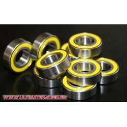 BEARING YELLOW RUBER HI-SPEAD SEAL 2RS  8x16x5 (10u)