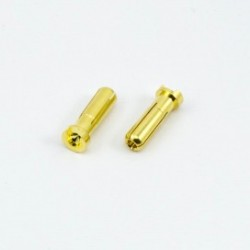 5.0mm BULLET CONNECTOR MALE (2pcs)