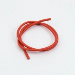 16awg RED SILICONE WIRE (50cm)