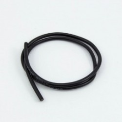 16awg BLACK SILICONE WIRE (50cm)