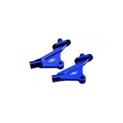 JConcepts - Kyosho RB6 / RT6 aluminum rear wing mounts - blue