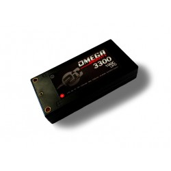 Lipo Battery GRAVITY 3300 mAh 7.4 100C TUBE (SHORTY)