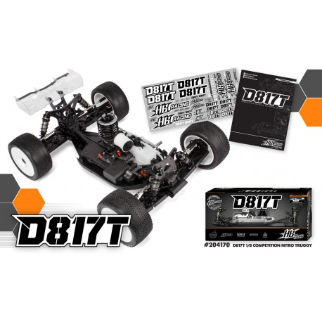 T817 1/8 Competition Nitro Truggy