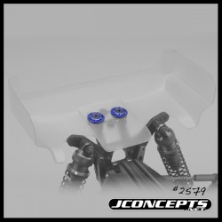 Jconcepts - B6/B6D Finnisher alu wing buttons - blue