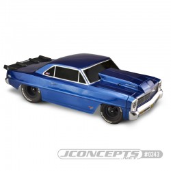 1966 Chevy II Nova - (fits Traxxas Slash for drag racing)