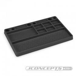 Jconcepts Parts Tray, rubber material - black