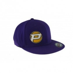PROCIRCUIT ORIGINAL FLEXFIT FLATPEAK CAP PURPLE SIZE S/M