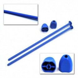 Zip Stix for 1:10 2wd, 4wd and SC wheels Blue, 2pcs