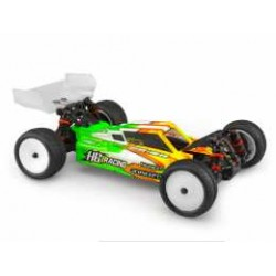 F2 - HB Racing D418 body w/Aero S-Type wing
