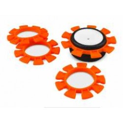 JConcepts - 1/10th Satellite tire gluing rubber bands - orange - fits 1/10th, SCt and 1/8th