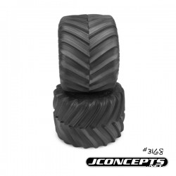 "Renegades - Monster Truck tire - gold compound (Fits - no3377 2.6 x 3.6"" MT wheel)"